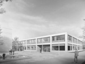 Dienstgebäude K12 des Bundesamtes für Strahlenschutz