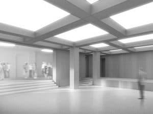Gartensaal im Haus der Architekten